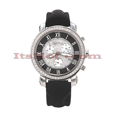 Benny Co Womens Diamond Watch 1.5ct Black