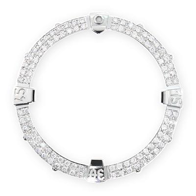 Breitling Super Avenger Custom Diamond Bezel 1.80ct