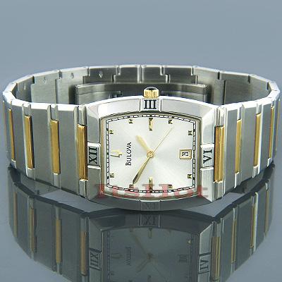 Bulova Men's Calendar Bracelet Watch