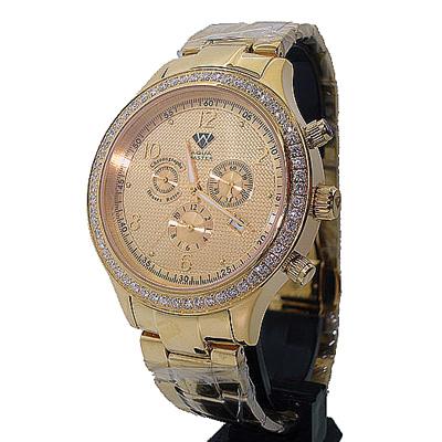 Buy Aqua Master Watches Mens Diamond Watch 2.45ct