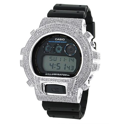 Casio G-Shock Diamond Watch 6ctw. DW-6900