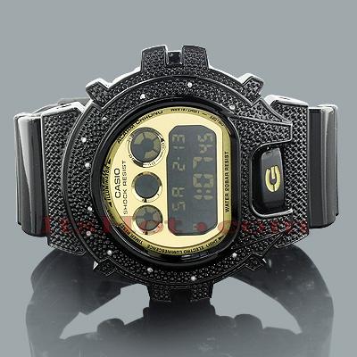 Casio G-Shock Diamond Watch DW6900 0.12ct