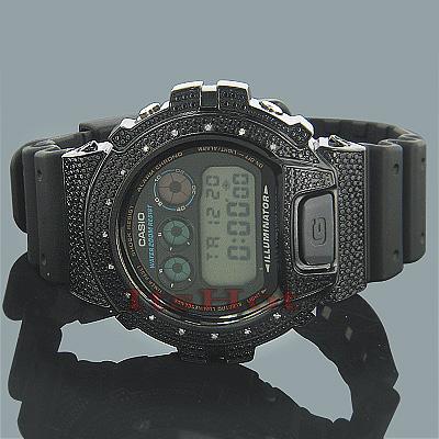 Casio G-Shock Diamond Watch DW6900 0.15ct.