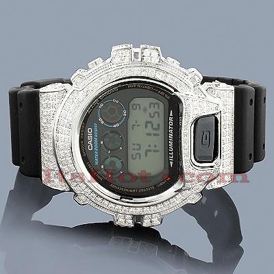 Casio Watches 6900 G SHOCK CZ Crystal Watch 5.25ct