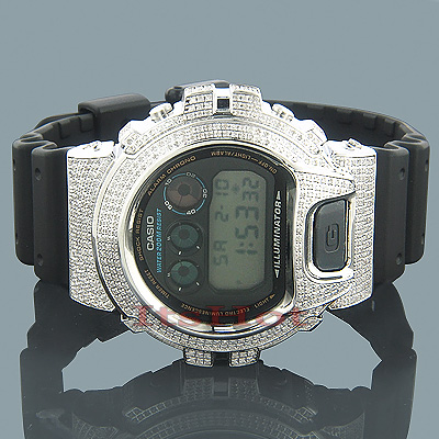 Casio Watches 6900 G SHOCK Diamond Watch 5.25ct