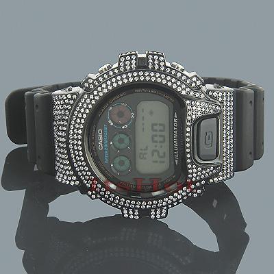 Casio Watches G-Shock CZ Crystal Watch DW6900 Black