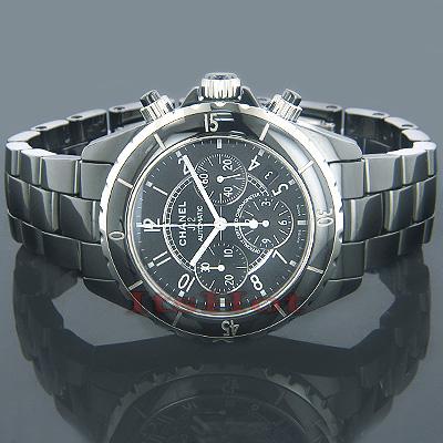 Chanel J12 Automatic Ceramic Chronograph Watch
