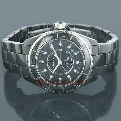 Chanel J12 Diamonds Automatic Ceramic Watch