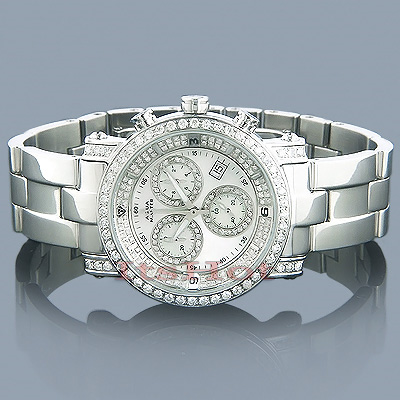 Chronograph Watches Aqua Master Diamond Watch 3.00ct