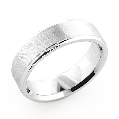 Cosmopolitan Thick Wedding Band for Men 14K Gold