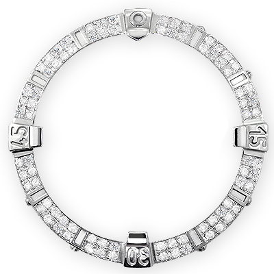 Custom Diamond Bezel for Breitling Super Avenger 1.75 carats
