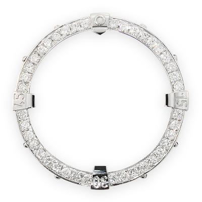 Custom Diamond Bezel for Breitling Super Avenger 2.80ct