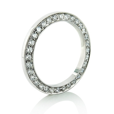 Custom Diamond Bezel for Ladies Rolex Presidential Watch 1.50ct