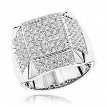 14K Designer Diamond Ring 1.99ct