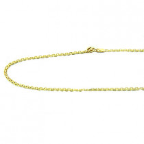 14K Gold Bismarck Chain 16in-24in, 2mm