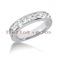 Thin 14K Gold Diamond Designer Engagement Ring Band 0.84ct