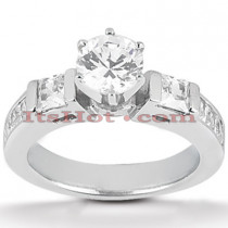 14K Gold Diamond Engagement Ring Setting 0.68ct