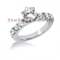 14K Gold Preset Diamond Engagement Ring 0.98ct