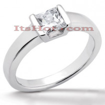 14K Gold Solitaire Engagement Ring 0.30ct