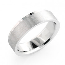 14K Solid Gold Mens Cosmopolitan Wedding Band