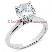 18K Gold Diamond Engagement Ring 0.75ct