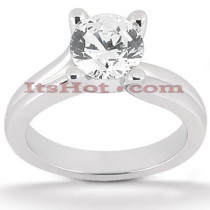 18K Gold Diamond Engagement Ring Setting