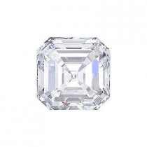 2.87CT. ASSCHER CUT DIAMOND G SI1