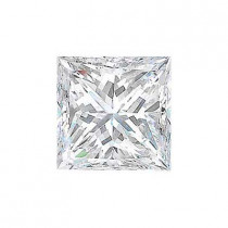 3.34CT. PRINCESS CUT DIAMOND E SI1