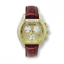 Aqua Master Iced Out Watches Mens Diamond Watch 5.40ct
