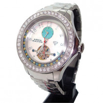 Aqua Master Tourbillon Floating Diamond Watch 5.75ct