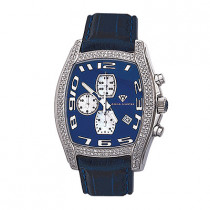 Aqua Master Watches Mens Diamond Watch 2.00ct