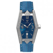 Aqua Master Watches Womens Pave Diamond Watch 1.50ct