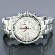 AquaMaster Watches Mens Aqua Master Diamond Watch 4.50