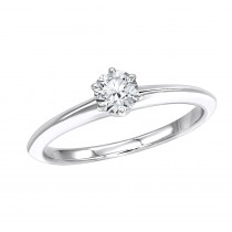 Authentic Tiffany & Co Platinum Diamond Engagement Ring 0.32ct