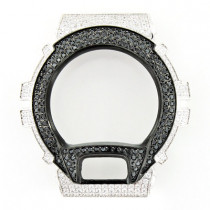 Black and White Crystal Bezel for G-Shock Watch