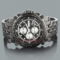 BLACK DIAMOND WATCHES: Jojino Mens Diamond Watch 2.25ct