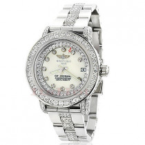 Breitling Colt Ladies Custom Diamond Watch 7ct