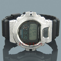 Casio Watches 6900 G SHOCK Diamond Watch 5.25ct