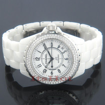 Chanel J12 Ceramic Diamond Watch