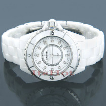 Chanel J12 Quartz Ladies Diamond Watch