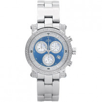 Chronograph Watches Aqua Master Diamond Watch 2.20ct