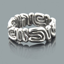 Designer Sterling Silver Rings: Handmade Jewelry Piece