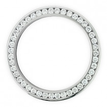 Diamond Bezel for Breitling Super Avenger  6 ct Custom Made Watch Bezels