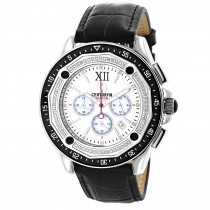 Diamond Chronograph Watch by Centorum Falcon 0.55ct