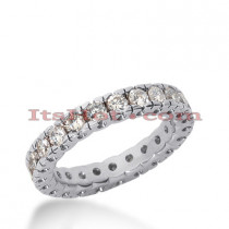 Diamond Platinum Eternity Band 0.37ct