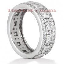 Diamond Platinum Eternity Band 1.82ct