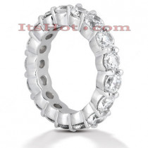 Diamond Platinum Eternity Band 3.40ct
