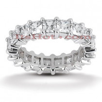 Diamond Platinum Eternity Ring 5.13ct