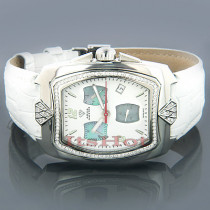 Diamond Watches Aqua Master Mens Watch 1.25ct