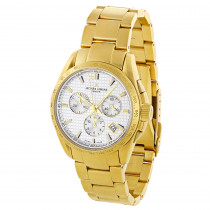 Genuine Jacques Lemans Mens Watch - Yellow Gold Plated